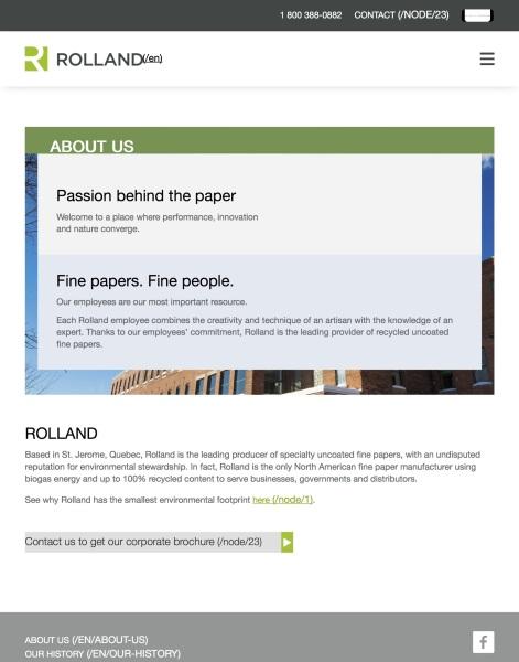Rolland Website