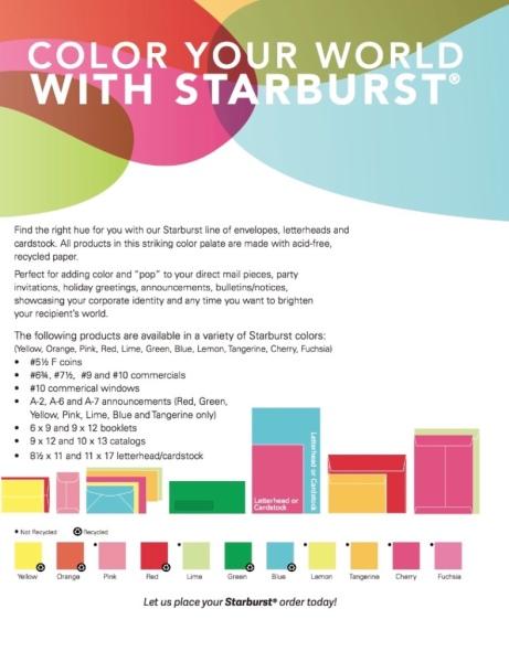 Starburst Flyer