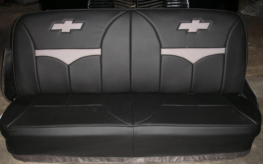 Custom Chevy seats