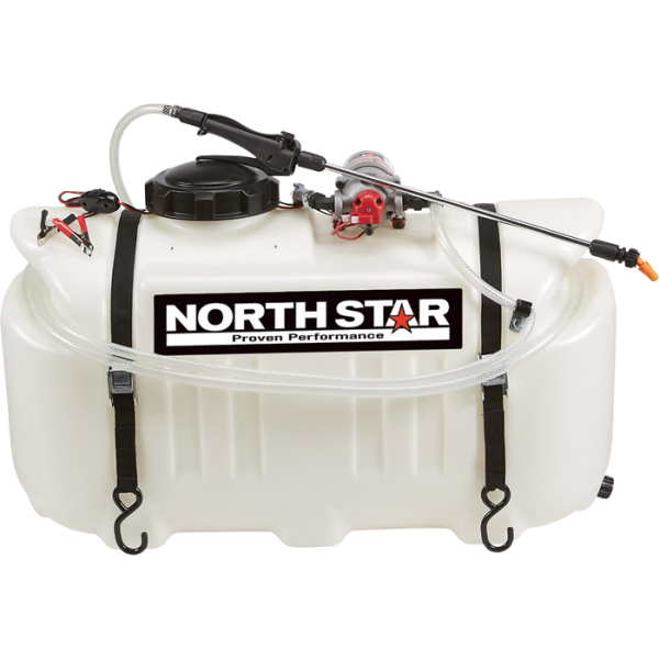 26-Gallon Capacity, 2.2 GPM, 12 Volt