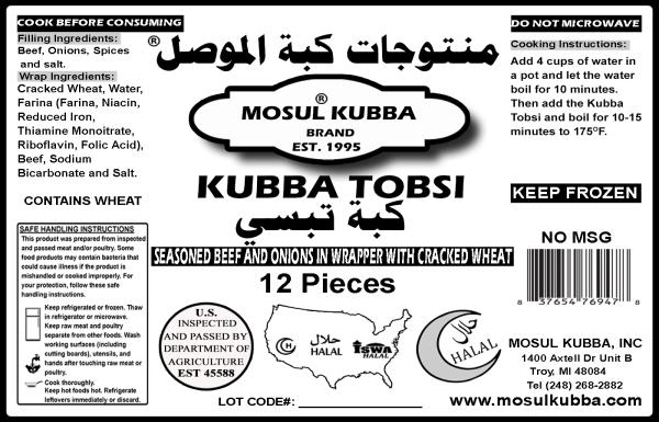Kubba Tobsi