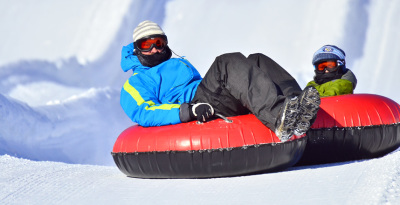 Try Snow Tubing
