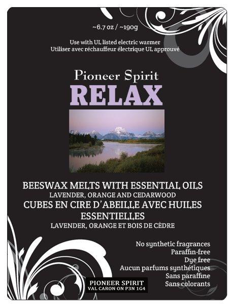Relax Aroma Wax Melt