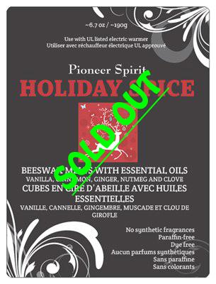 Holiday Spice Aroma Wax Melt