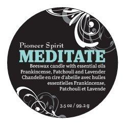 Meditate Aroma Candle