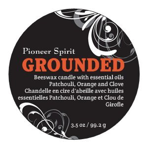 Grounded Aroma Candle