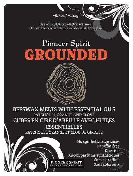Grounded Aroma Wax Melt