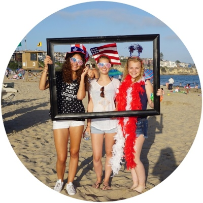immersion program in southern california, exchange student, host family, orange county