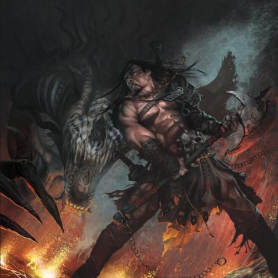 barbarian berserker monster
