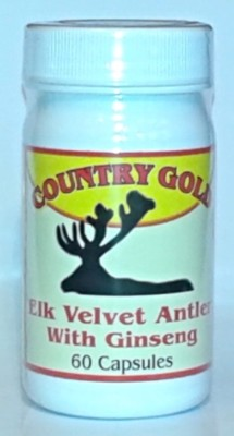 elk velvet antler and ginseng pills