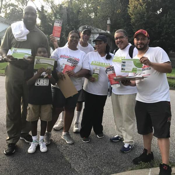 Joint canvass with TeamStinnett