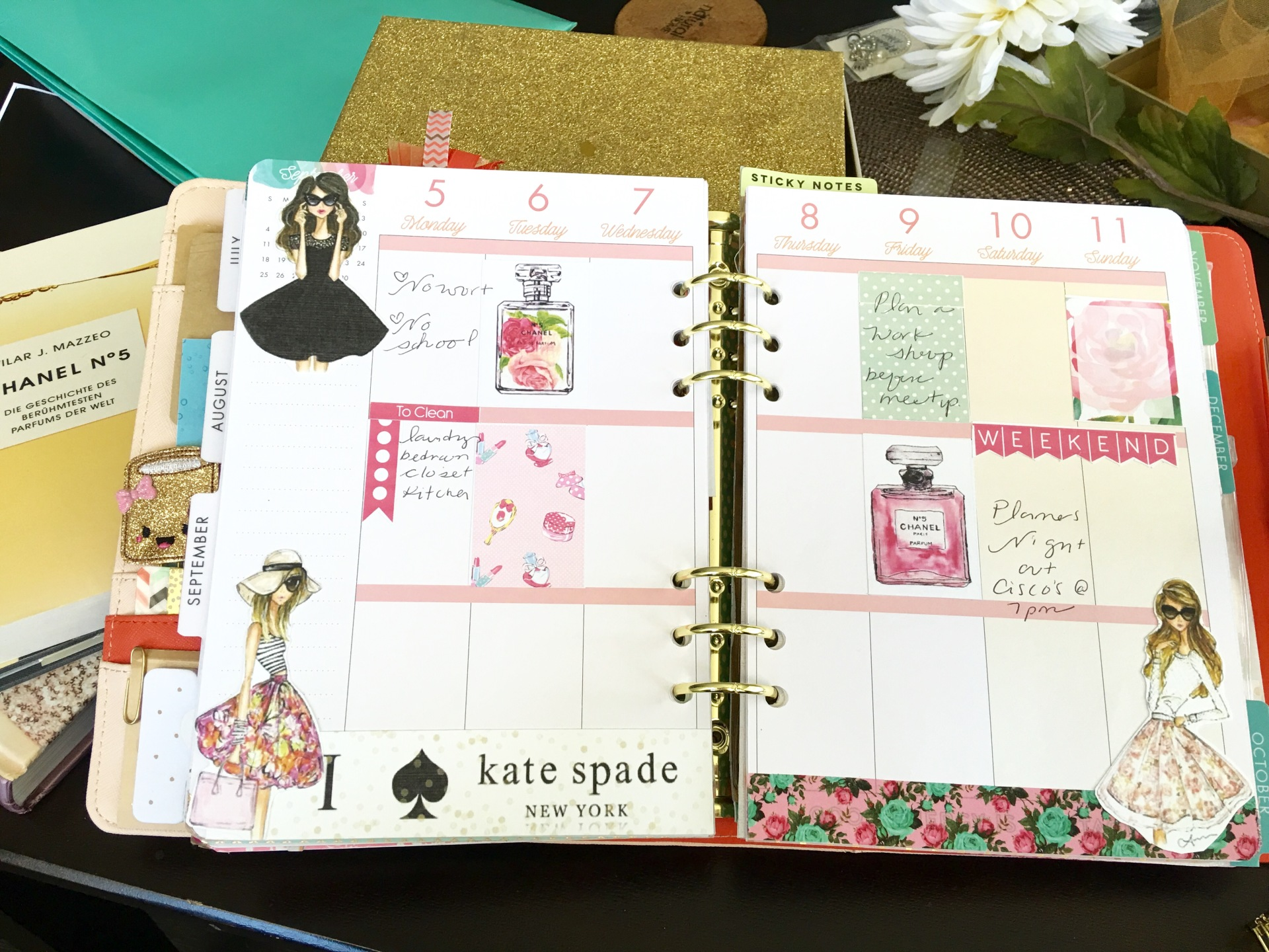 A5 with Happy Planner Insterts
