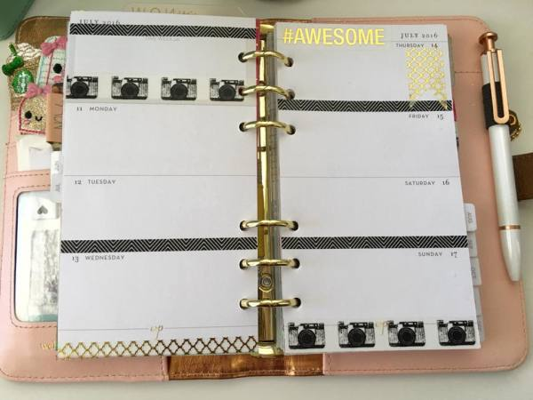 Personal Size Planner