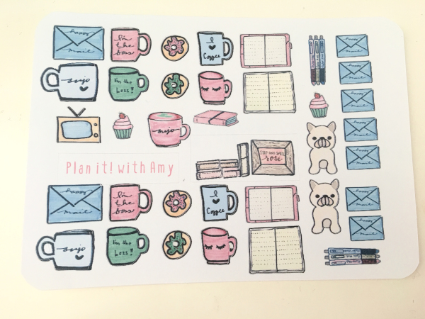 Bujo Essentials Sticker Sheet (Large)