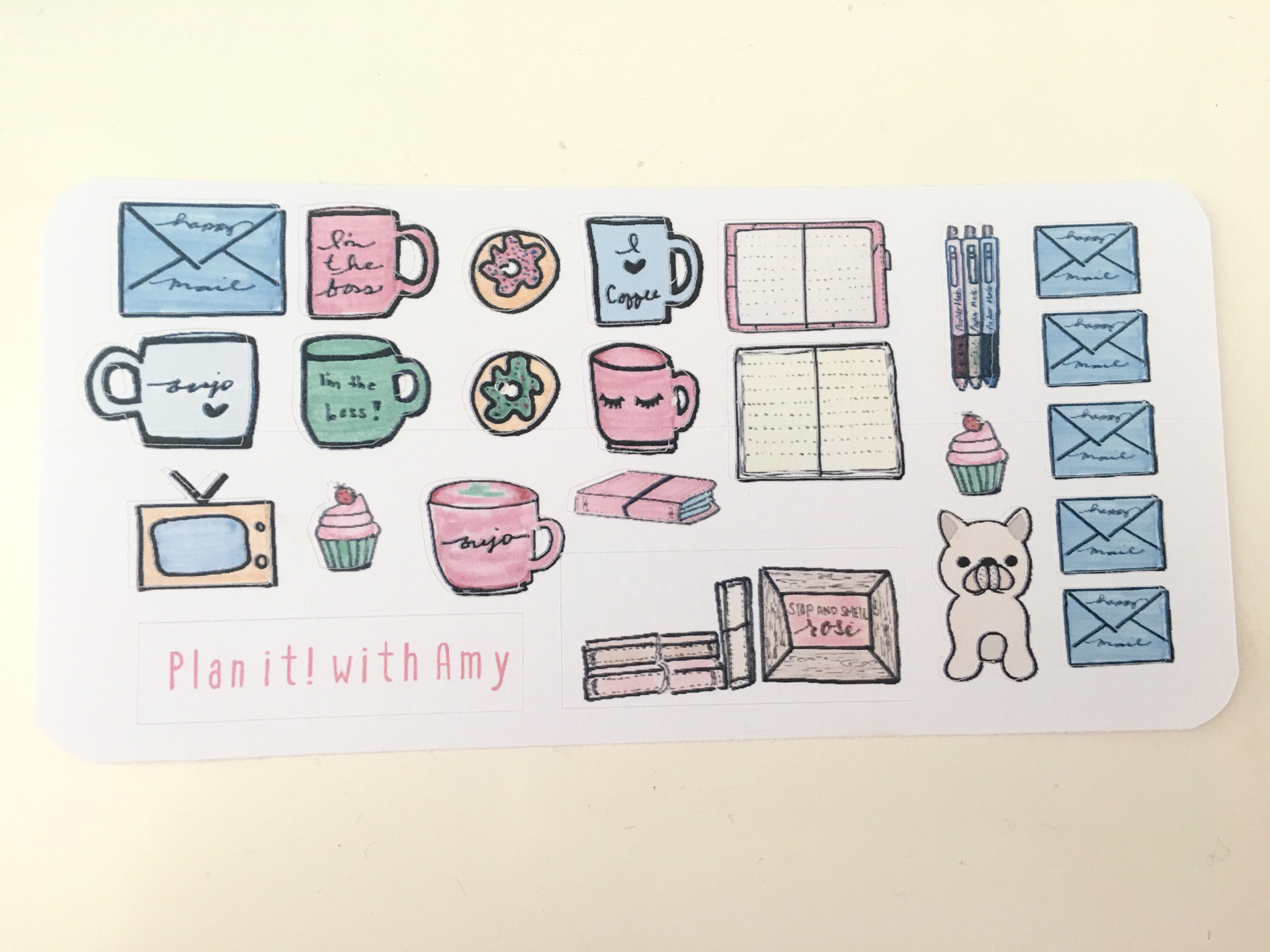 Bujo Essentials Sticker Sheet (Small)