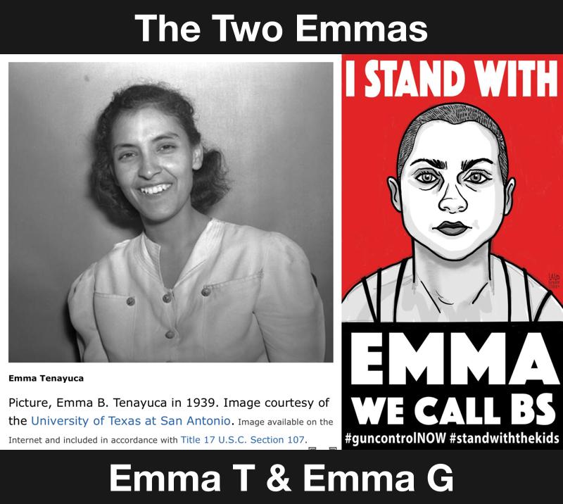2 Powerful Emmas: Emma Tenayuca & Emma Gonzalez
