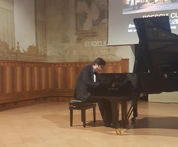 2nd Brescia Classica International Piano Competition
