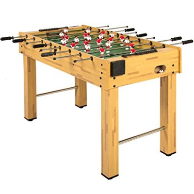 Foos Ball Table in garage game room