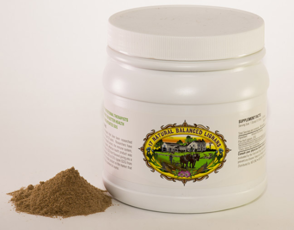 FLAX HULL LIGNAN POWDER (5 Month Supply - 150 Scoops) $149.99