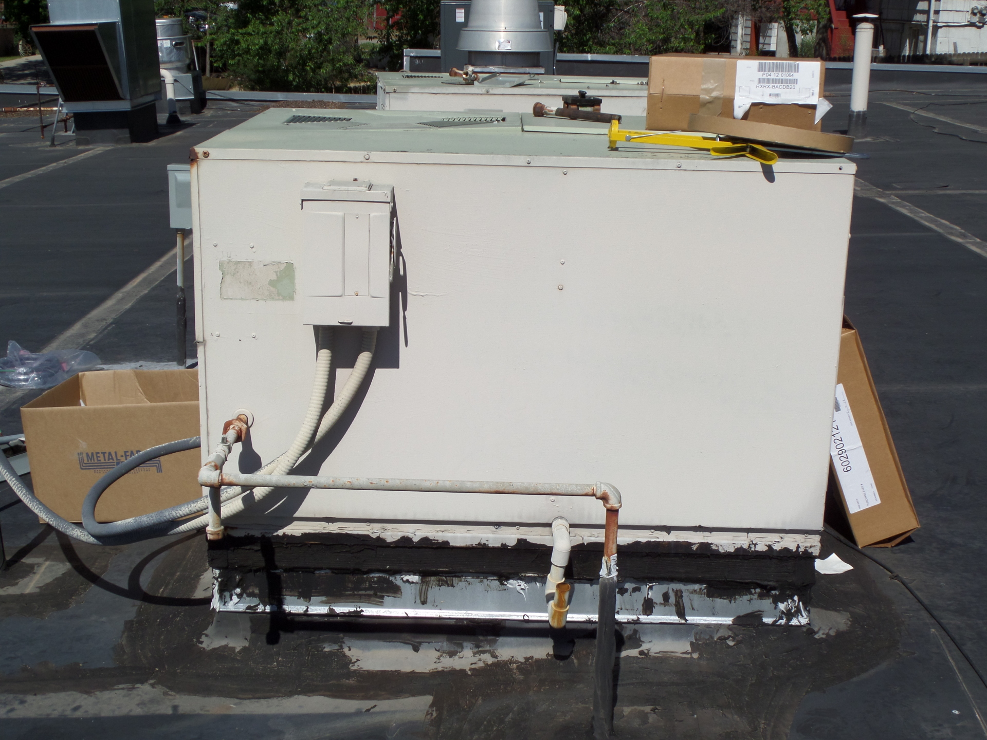 Old roof top unit