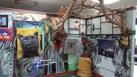 Art exhibit continued