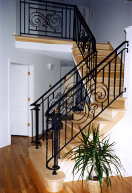 We will work with your existing stairway