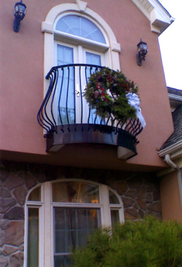 Ask us about balconies and flower boxes