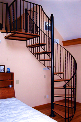 We design and install spiral staircases