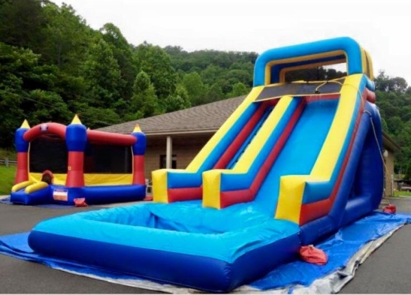 20 ft WaterSlide with 2 ft pool