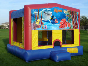 Bounce House with Nemo Panel