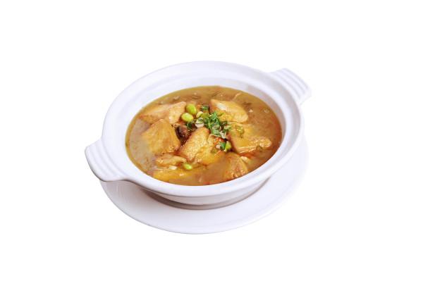 蟹黃海鮮豆腐煲