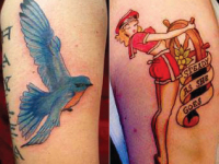Ryan McCurter Blue Bird Tattoo