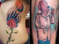 Ryan McCurter McGruff Tattoo