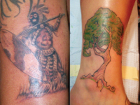 Ryan McCurter Tree Tattoo