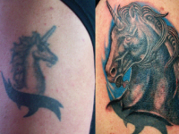 Ryan McCurter Before & After Tattoo