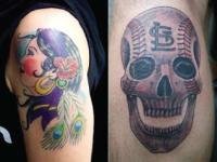 Ryan McCurter Skull Tattoo v2