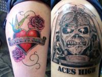 Ryan McCurter Heart Rose Tattoo