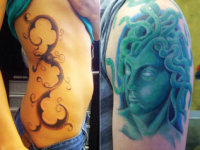 Ryan McCurter Medusa Tattoo