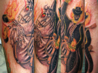Ryan McCurter Death Rider Tattoo