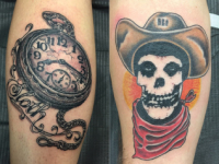 Mike Pfau Pocket Watch Tattoo