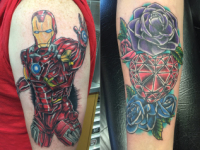 Mike Pfau Ironman Tattoo