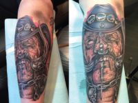 Mike Pfau Dead Cowboy Tattoo