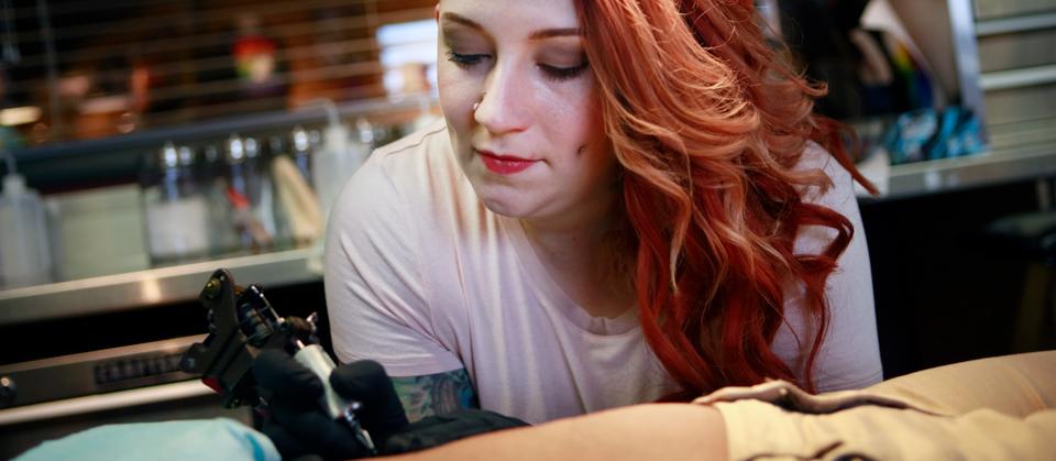Mike Pfau Tattoo Artist Image