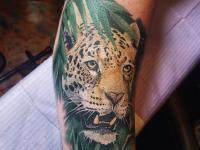 leopard jungle Tattoo