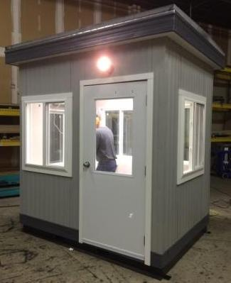 Click to view more guard shacks and booths