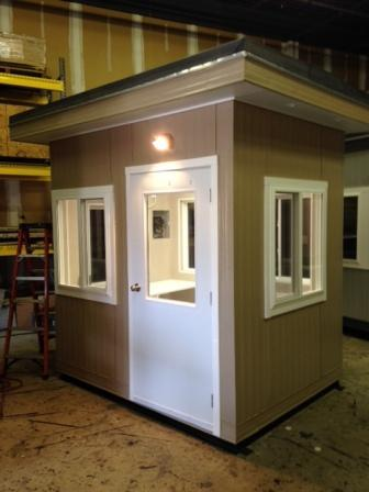 Click to view guard shack and booth