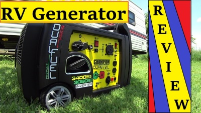 Champion Dual Fuel Generator for RV Full time living