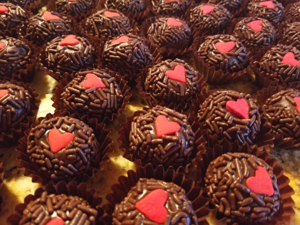 Brigadeiro Valentines