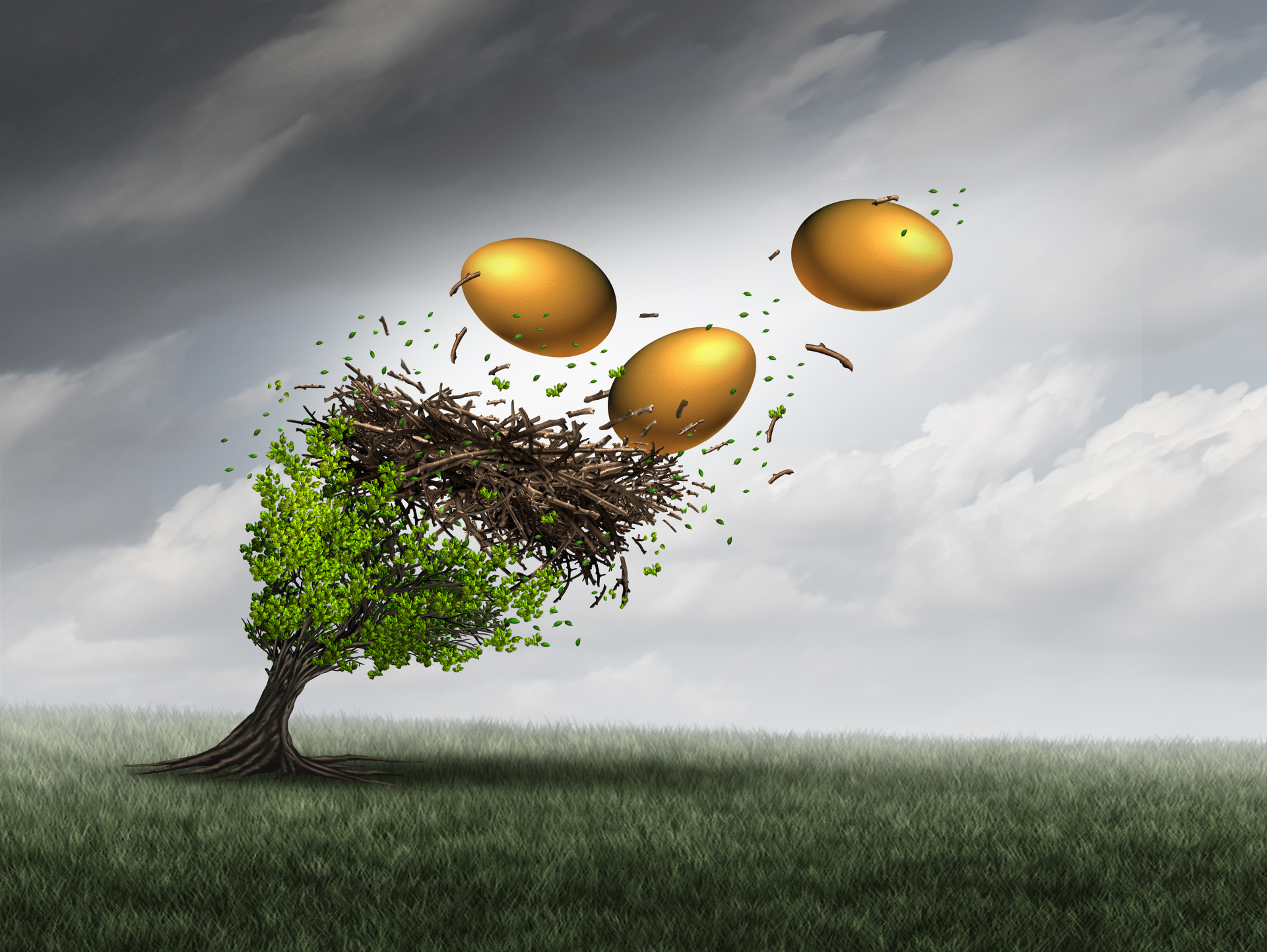 Is your retirement nest egg flying in the wind?