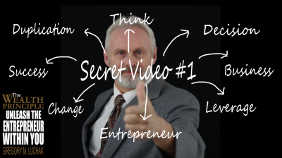 Secret #1: Think Like an Entrepreneur